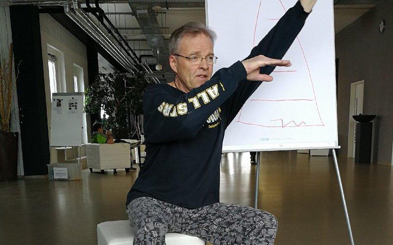 Stefan A. Scherer coacht auf seine motivierende, mitreissende Art