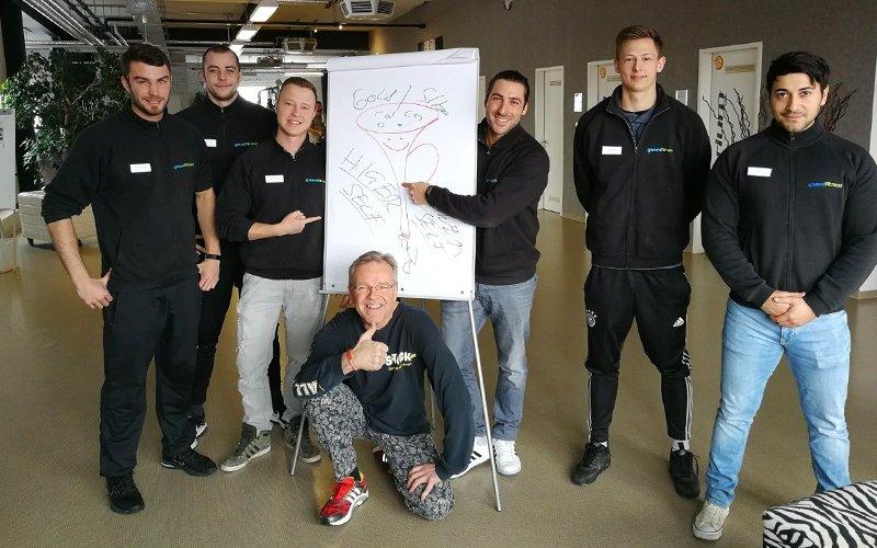 Stefan A. Scherer, der Coach, der sich perfekt auf seine Teilnehmer einstellt